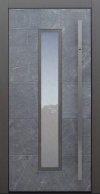austür modern, Himalayastein, Sicherheitstür, passivhaustauglich, besser als alu, Glas
