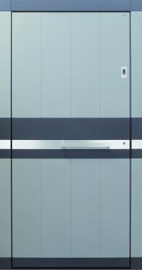 Haustür modern, anthrazit,grau, TOPICcore, Sicherheitstür, passivhaustauglich, besser als alu