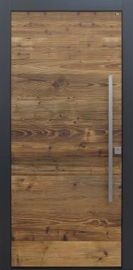 Haustüren modern anthrazit, Holz, Altholz, Fichte, über 100 Jahre, Sicherheitstür, niedrigenergiehaustauglich, TOPICcore, besser als alu