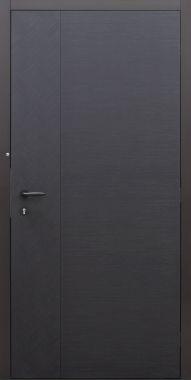 Haustür modern, Holz, Sicherheitstür, passivhaustauglich, besser als Alu