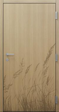 Haustür modern, Holz, Eiche, Sicherheitstür, passivhaustauglich, besser als Alu