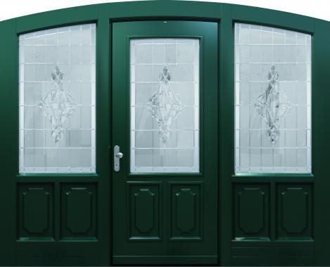 Haustür front door Classic Sonder T1 mit 2 Seitenteilen ST-A9 www.topic.at