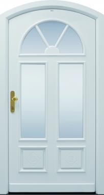 Haustür, Landhaus, weiß, TOPICcore, Sicherheitstür, besser als alu, Glas