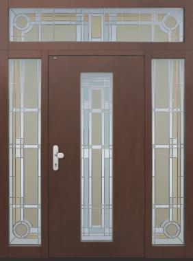 Haustür front door Current B11-Sonder T2mit 2 Seitenteilen ST-B1 und Oberlichte www.topic.at