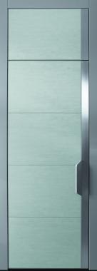 Haustür modern, grau, Keramik, Sicherheitstür, passivhaustauglich, TOPICcore, besser als alu, 3m, XL, extrahoch