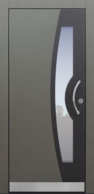 Haustür modern, TOPICcore, RAL, grau, Sicherheitstür, passivhaustauglich, besser als Alu, Glas