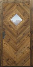 Haustür, Landhaus klassisch rustikal, Fichte, Holz, Altholz, Sicherheitstür, besser als alu, Glas
