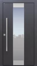 Haustür modern, anthrazit, TOPICcore, Sicherheitstür, passivhaustauglich, besser als Alu, Glas, Edelstahl