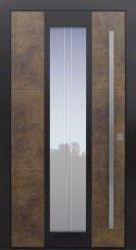 Haustür modern, Exterior, TOPICcore, Sicherheitstür, passivhaustauglich, besser als Alu, Glas