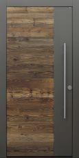 Haustür modern, Altholz, Holz, Fichte, Altholz Fichte, Sicherheitstür, passivhaustauglich, besser als Alu