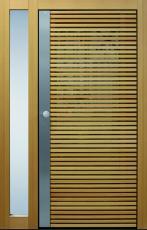 Haustür front door Current Daylight T3 Lärche mit Seitenteil ST-G100 www.topic.at