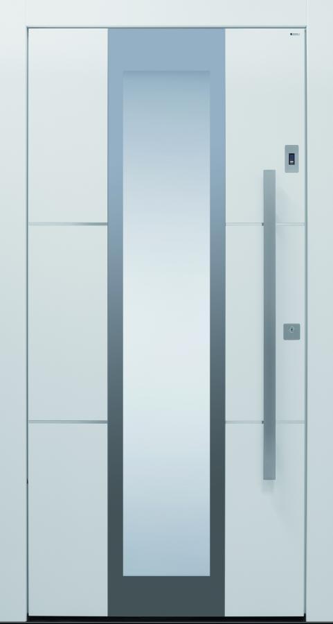 Haustür modern, anthrazit, weiß, TOPICcore, Sicherheitstür, passivhaustauglich, besser als alu, Glas
