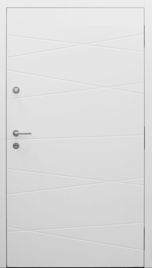 Haustür modern, weiß, Topiccore, Sicherheitstür, passivhaustauglich, besser als Alu